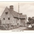 UK Sulgrave Manor West Wing Vtg Blinkhorns Postcard George Washington Ancestral Home