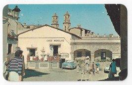 Taxco Mexico Plazuela y Fuente Colonial Fountain Square Vintage Postcard 1968