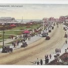 UK Southport England The Promenade Vintage Valentines Postcard