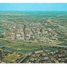 Aerial View Dayton Ohio Vintage Aladdin Studios Postcard