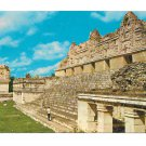 Mexico Uxmal Yucatan Quadrangle of the Nuns Temple of Venus Vtg Postcard