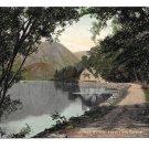 Scotland Loch Katrine Path Stirling Vintage 1909 Valentines UDB Postcard