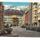 Austria Innsbruck Gold Roof  Herzog Friedrich Strass Vtg Postcard 4X6