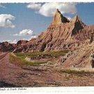 SD South Dakota Badlands 1975 Vintage 4X6 Postcard