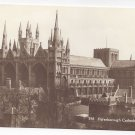 UK England Peterborough Cathedral Vntg Kings Lodging Real Photo Postcard