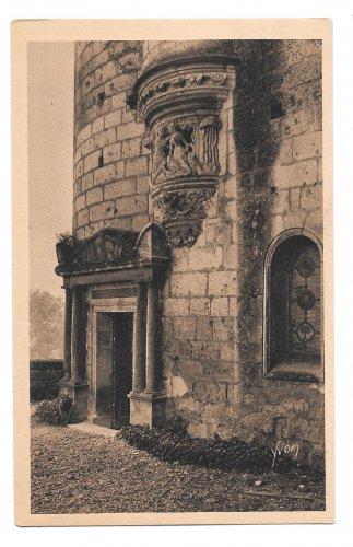 France Loches Chateaux de la Loire Agnes Sorel Tower YVON Vintage Postcard