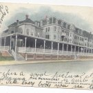 Atlantic City NJ Pennhurst Hotel Michigan Ave 1906 Hand Colored Postcard UDB