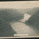 New River Gorge Ansted WV View from Hawks Nest State Park  Vintage Postcard