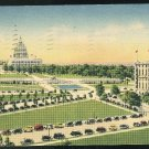 Hotel Continental 1940 Washington DC Vintage 1Linen Postcard