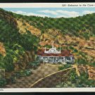 Entrance to the Cave of the Wind Manitou CO  Vintage Postcard Unused