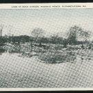 Lake at Rock Garden Elizabethtown PA Masonic Homes  Vintage Linen Postcard