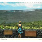 HI Halemaumau Crater Hawaii Volcanoes National Park Vtg Postcard 4X6
