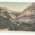 UK Isle of Wight Blackgang Chine JWS John Welch & Sons no 72 Vintage Litho Postcard Tinted