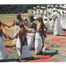 Africa Morocco Marrakesh Dancers Costume Zagora Vintage 4X6 Postcard Marrakech