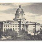 SD Pierre South Dakota State Capitol Vintage 1940s Mayrose Co Postcard