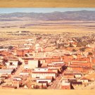 Vintage Birdseye View Of Helena Montana Postcard