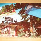 Vintage Highland Pines Motel Cascade Colorado Postcard