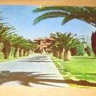 Vintage Entrance U.S. Veterans Hospital Tucson Arizona Postcard