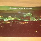 Vintage Sunset Over Denver Colorado Postcard