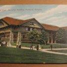 Vintage Lewis And Clark Memorial Building Portland Oregon Postcard