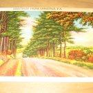 Vintage Greetings From Lansdale PA Postcard