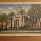 Vintage Knox County Court House Mount Vernon Ohio Postcard