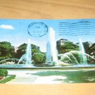 Vintage Swann Memorial Fountain Philadelphia PA Postcard