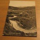 Vintage Topanga Road Postcard