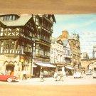 Vintage Eastgate Street Chester England Postcard
