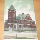 Vintage Vincennes And Shelby Street School New Albany Indiana Postcard