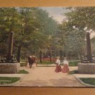 Vintage Military Park Entrance Indianapolis Indiana Postcard