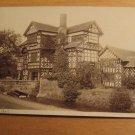 Vintage Old Moreton Hall Cheshire England Postcard