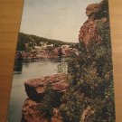 Vintage Old Man Of The Dalles St Croix Minnesota Postcard