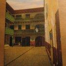 Vintage Courtyard & Prison Rooms Cabildo New Orleans LA Postcard