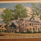 Vintage Old Club Teahouse Alexandria VA Postcard