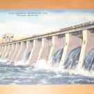 Vintage Giant Spillways At Kentucky Dam Western Kentucky Postcard