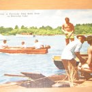 Vintage Activity In Kentucky Dam State Park On Kentucky Lake Postcard