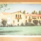 Vintage Mills College Oakland California Postcard