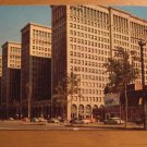 Vintage General Motors Building Detroit Michigan Postcard