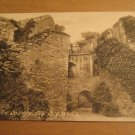 Vintage Oxford New College Old City Walls Postcard
