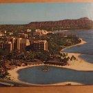 Vintage Hilton Hawaiian Village Honolulu Hawaii Postcard