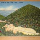 Vintage US Route 60 Buena Vista Virginia Postcard