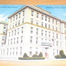 Vintage New Post Office And Federal Building Dallas Texas Postcard