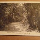 Vintage Ancient British Causeway St Albans Hertfordshire UK Postcard