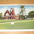 Vintage St Johns Catholic Church Near Paducah Kentucky Postcard