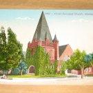 Vintage Christ Episcopal Church Alameda California Postcard