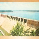 Vintage Wolf Creek Dam Lake Cumberland Kentucky Postcard