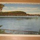Vintage Village Of Fish Creek And Bluff Door County WI Postcard