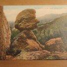 Vintage The Guardian Of The Pools Sylvan Lake Custer South Dakota Postcard