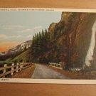 Vintage Horsetail Falls Columbia River High Oregon Postcard